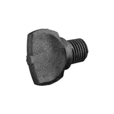 "Plug 1/4"" Npt Drain Tagelus Filter Black - Total Tech Pools Oakville"