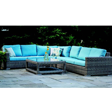 Tamrindo Club Chair - Mineral Blue - Total Tech Pools Oakville