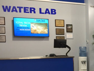 Free, Contactless, Pool Water Testing