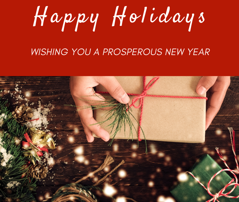 Happy Holidays from Total Tech Pools!