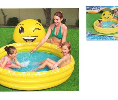 """65""""x57"""" Emoji Kiddie Pool - Total Tech Pools Oakville"""