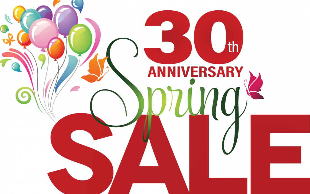 30th Annual Spring Sale – Save On Pool Supplies, Equipment, Toys, and More!